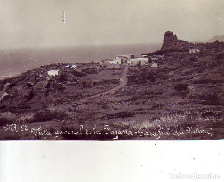 TENERIFE - LA PALMA-LA FAJANA GARAFIA (Postales - España - Canarias Antigua (hasta 1939))