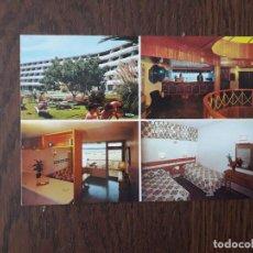 Cartes Postales: POSTAL DE ESPAÑA, APARTAMENTOS HOTEL SANTA MÓNICA, PLAYA DEL INGLÉS. GRAN CANARIA.. Lote 209888948