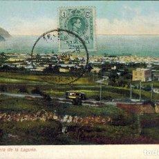 Postales: TENERIFE. CARRETERA DE LA LAGUNA. Nº 3216. CIRCULADA. Lote 218110100