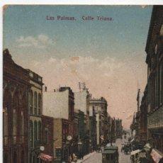 Postales: CALLE TRIANA-LAS PALMAS. Lote 210116205