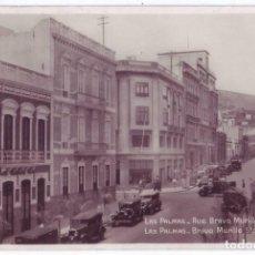 Postales: LAS PALMAS DE GRAN CANARIA: CALLE BRAVO MURILLO. LIBRERÍA HIGH LIFE. NO CIRCULADA (AÑOS 30). Lote 210185387