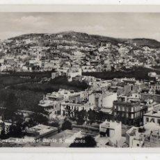 Postales: LAS PALMAS. AL FONDO EL BARRIO DE SAN BERNARDO.. Lote 210331847