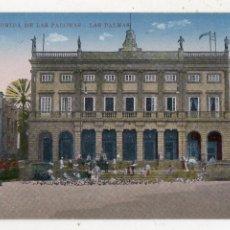 Postales: LAS PALMAS. MUSEO. COMIDA DE LAS PALOMAS.. Lote 210332080