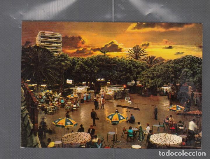 LAS PALMAS DE GRAN CANARIA. VISTA NOCTURNA DEL PARQUE DE SANTA CATALINA (Postales - España - Canarias Antigua (hasta 1939))