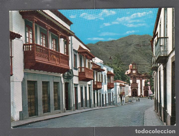 1.094 - GRAN CANARIA - TEROR. BALCONES TÍPICOS Y BASILICA NTRA. SRA. DEL PINO (Postales - España - Canarias Antigua (hasta 1939))