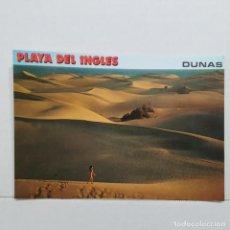 Postales: GRAN CANARIA (ISLAS CANARIAS) 10090, PLAYA DEL INGLÉS, DUNAS, EXCLUSIVAS CABRERA. Lote 210556238