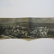Postales: LAS PALMAS DE GRAN CANARIA-PANORAMICA-ARCHIVO FOTO A.MESA-DOBLE-FOTOGRAFICA-POSTAL ANTIGUA-(72.527). Lote 210694424
