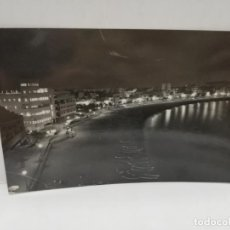 Postales: TARJETA POSTAL FOTOGRAFICA. LAS PALMAS DE GRAN CANARIA. PLAYA DE LAS CANTERAS, NOCTURNO.. Lote 210821929