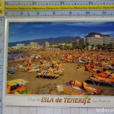 Postales: POSTAL DE TENERIFE. AÑO 1993. PLAYA DE LAS AMÉRICAS. TURISTAS BAÑISTAS MUJERES TOPLESS. 573. Lote 211623249