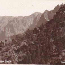 Cartes Postales: ISLA DE LA PALMA CALDERA. ED. FOTO J. HERRERA Nº 217. POSTAL FOTOGRAFICA SIN CIRCULAR. Lote 211683666