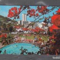 Postales: PUERTO DE LA CRUZ. VISTA DE LA PISCINA DEL HOTEL EL TOPE. Lote 212018241