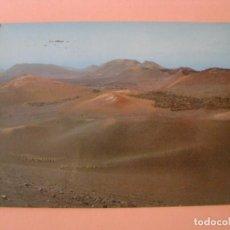 Postales: POSTAL DE LANZAROTE. MONTAÑA DEL FUEGO. ED. EXCL. DE COMERCIAL SILVA. CIRCULADA. 1984.. Lote 213889133