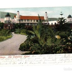 Postales: TARJETA POSTAL LAS PALMAS. STA. CATALINA HOTEL. C. 1905. Lote 214173096