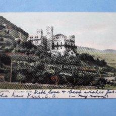 Postales: TENERIFE. QUISISANA HOTEL. FRANQUEADA EL 17 DE DICIEMBRE DE 1907.. Lote 214373253