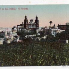 Postales: VISTA GENERAL DE LAS PALMAS. GRAN CANARIA. ESCRITA.. Lote 214373555