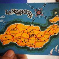 Cartes Postales: POSTAL LANZAROTE LA ISLA DE LOS VOLCANES COLECCIÓN LAS AFORTUNADAS S/C. Lote 214425188