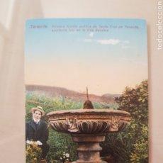 Postales: POSTAL TENERIFE CANARIAS. PRIMERA FUENTE VILLA BENITEZ. Lote 214816057