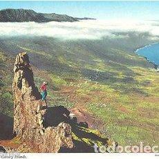 Postales: POSTAL ISLA DEL HIERRO VALLE DEL GOLFO CANARIAS POSTCARD POSTKARTE CC00542. Lote 215213380