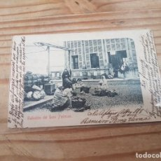 Postais: POSTAL SALUDOS DE LAS PALMAS CIRCULADA. Lote 216771168