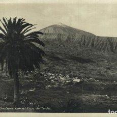 Postais: TENERIFE. VILLA DE LA OROTAVA CON EL PICO DE TEIDE. Lote 216832645
