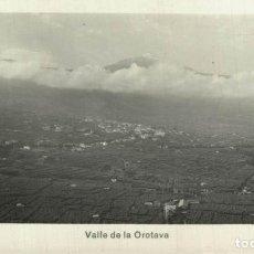 Postais: TENERIFE. VALLE DE LA OROTAVA. Lote 216832740