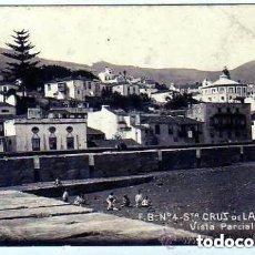 Postais: CANARIAS. SANTA CRUZ DE LA PALMA. FOTOGRAFICA. VISTA PARCIAL. F.B. Nº 4. SIN CIRCULAR.. Lote 216971540