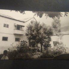 Postales: FOTOGRAFÍA TAMAÑO POSTAL. GÜÍMAR. TENERIFE. UNA VILLA. FOTO GARCÍA. SIN CIRCULAR. Lote 217681677