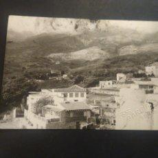 Postales: FOTOGRAFÍA TAMAÑO POSTAL. GÜÍMAR. TENERIFE. VISTA PARCIAL. FOTO GARCÍA. SIN CIRCULAR. Lote 217682471