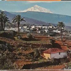 Postales: POSTAL N°102 VALLE DE LA OROTAVA Y TEIDE TENERIFE. Lote 217682845