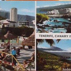 Postales: POSTAL VARIOS ASPECTOS TENERIFE CANARY ISLLAND. Lote 217688801