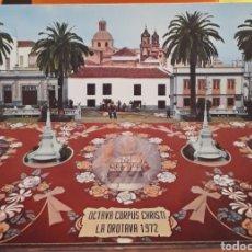 Postales: POSTAL N°49 ALFOMBRA DE FLORES LA OROTAVA TENERIFE. Lote 217787960