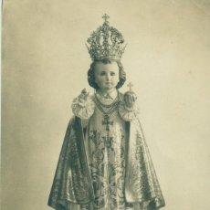 Postales: TENERIFE NIÑO JESÚS DE PRAGA DEL PILAR. FOTO A. BENITEZ HACIA 1920.. Lote 218027873