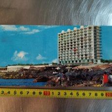 Postales: POSTAL DE TENERIFE, PUNTA HIDALGO, ALTAGAY. Nº3536. GRAN TAMAÑO DE 1968. Lote 218260433