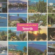 Postales: (140) PYUERTO DE LA CRUZ. TENERIFE ... SIN CIRCULAR. Lote 218322307