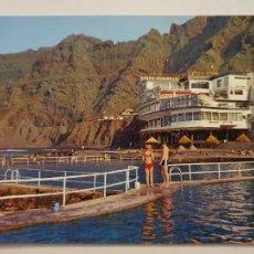 Cartes Postales: TENERIFE - BAJAMAR - PISCINAS NATURALES Y HOTEL NAUTILUS - LMX - ICAN8. Lote 218547981