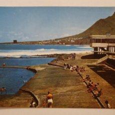 Cartes Postales: TENERIFE - BAJAMAR - PISCINAS - LMX - ICAN8. Lote 218547990