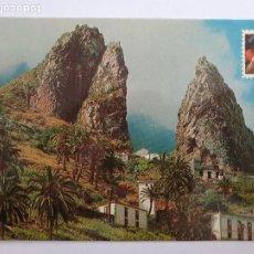 Postales: LA GOMERA - HERMIGUA - PAISAJE - LMX - ICAN10. Lote 218586345