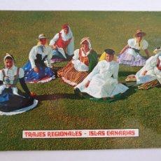 Postales: CANARIAS - TRAJES REGIONALES - LMX - ICAN10. Lote 218588526