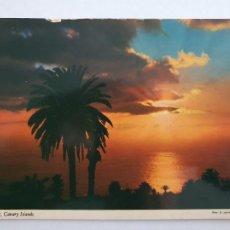Postales: CANARIAS - PUESTA DE SOL - LMX - ICAN10. Lote 218588652