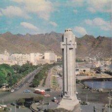 Postales: TENERIFE, PLAZA ESPAÑA Y AVDA. DE ANAGA – POSTAL OSCARCOLOR Nº 11 – S/C. Lote 218634158