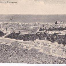 Postales: LAS PALMAS GRAN CANARIA PANORAMA. ED. RODRIGUES BROS PUERTO DE LA LUZ. SIN CIRCULAR. Lote 218929218