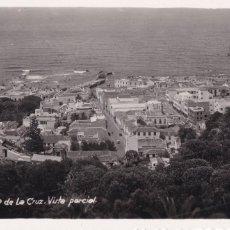 Postales: TENERIFE PUERTO DE LA CRUZ VISTA PARCIAL. SIN CIRCULAR. Lote 218930450