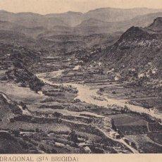 Postales: LAS PALMAS GRAN CANARIA BARRANCO DRAGONAL SANTA BRIGIDA. SIN CIRCULAR. Lote 218930905