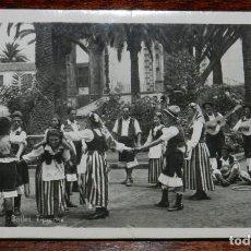 Postales: FOTO POSTAL DE TENERIFE, BAILES TIPICOS, ED. BAENA, NO CIRCULADA.. Lote 218970576