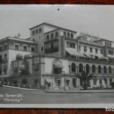Postales: FOTO POSTAL DE TENERIFE. AÑOS 30/50. SANTA CRUZ, GRAN HOTEL MENCEY. ED.CIF. NO CIRCULADA, ESCRITA.. Lote 218971336