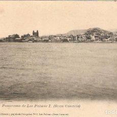 Postales: PANORAMA DE LAS PALMAS (GRAN CANARIA).. Lote 219047410