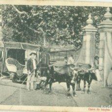 Postales: TENERIFE CARRO DE BUEYES CIRCULADA EN 1903. RARA.. Lote 219233638