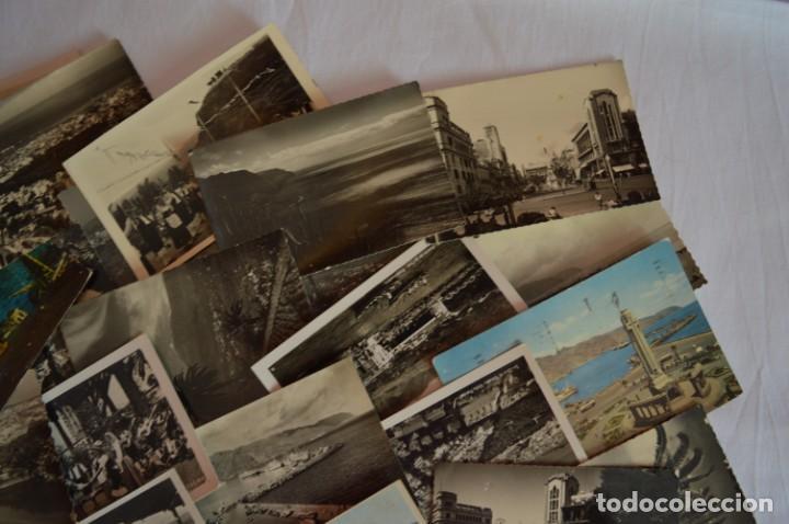 Postales: LOTE 23 POSTALES - Antiguas variadas - SANTA CRUZ DE TENERIFE (Canarias) - Años 50 / 60 ¡Mira! - Foto 4 - 219501321