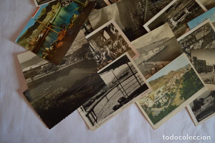 Postales: LOTE 23 POSTALES - Antiguas variadas - SANTA CRUZ DE TENERIFE (Canarias) - Años 50 / 60 ¡Mira! - Foto 5 - 219501321