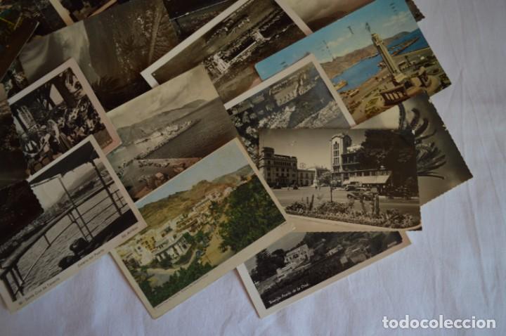 Postales: LOTE 23 POSTALES - Antiguas variadas - SANTA CRUZ DE TENERIFE (Canarias) - Años 50 / 60 ¡Mira! - Foto 6 - 219501321
